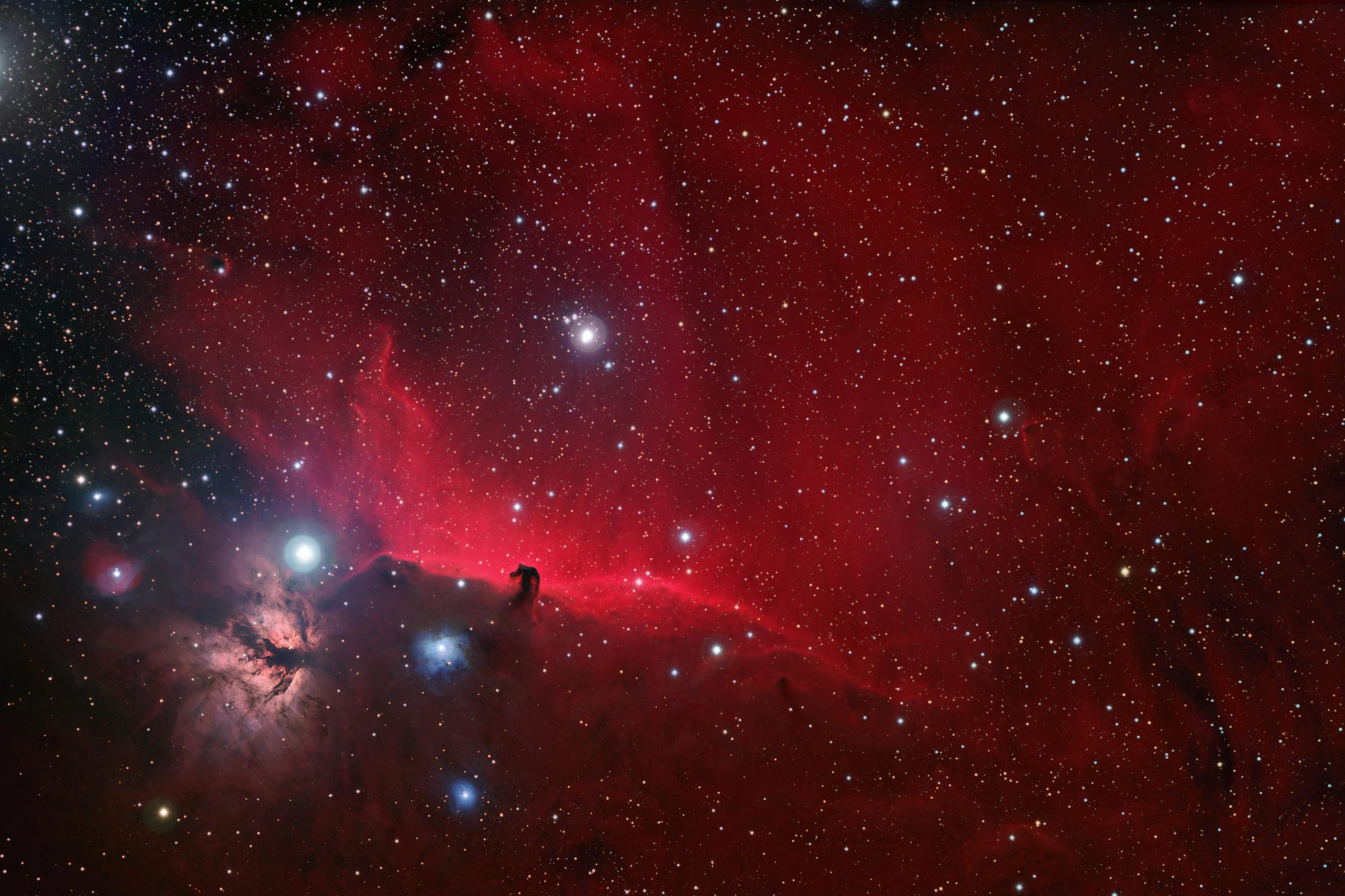 IC 43 & B33, The Horsehead Nebula