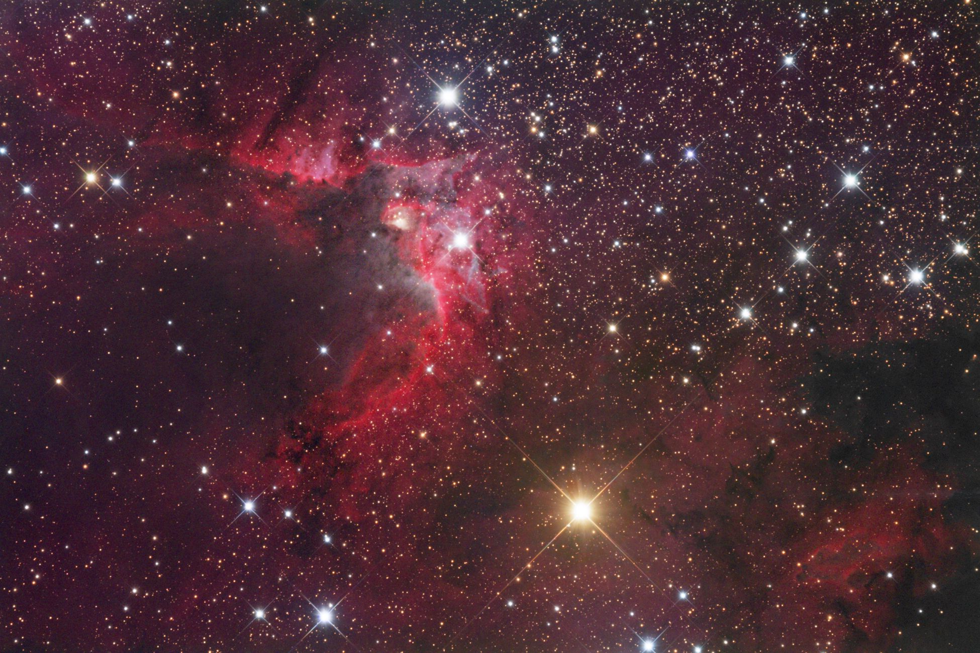 cave nebula narrow band - photo #28